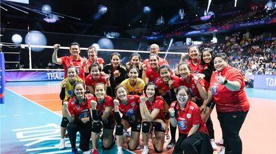"""Тайланд с чиста победа над """"млада"""" Сърбия (видео + снимки)"""
