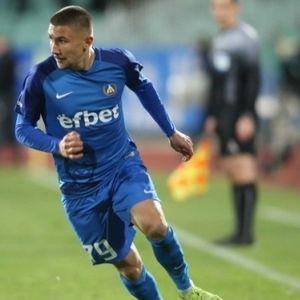 Мартин Петков с два гола за Левски срещу Ботев при U19