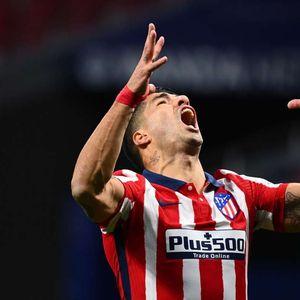 Луис Суарес не спира да бележи за Атлетико Мадрид