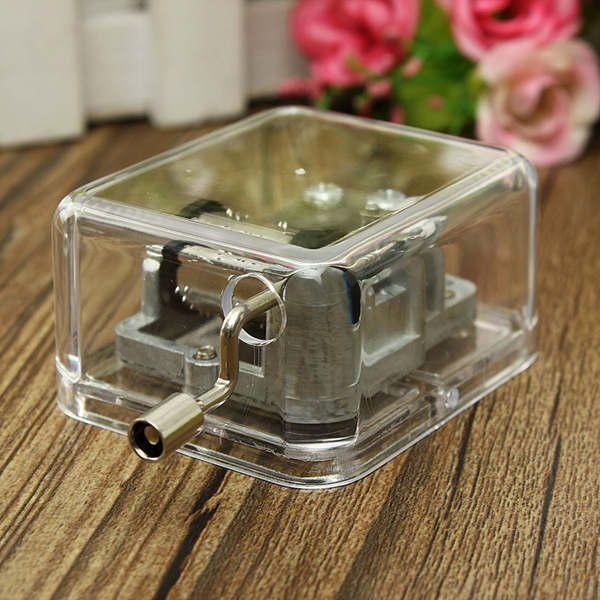 Mini Acrylic Music Box of Fur Elise / Castle in the Sky