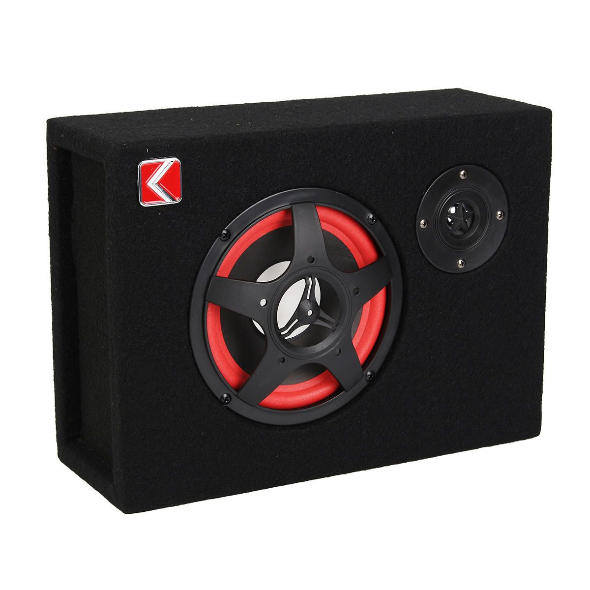 6 Inch 350W 4Ω Under Seat Car Subwoofer Speaker Stereo Audio Bass Powerful Amplifier