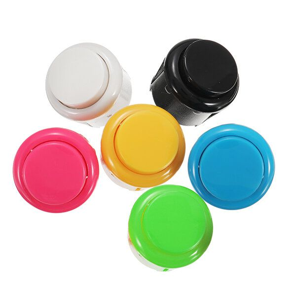 LQN US$2.66 24mm Push Button for Arcade Game Joystick Controller MAME