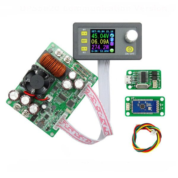 CODE: BGDP5020 RIDEN® DPS5020 Constant Voltage Current Step Down Communication Digital Power Supply Buck Voltage Converter LCD Voltmeter 50V 20A