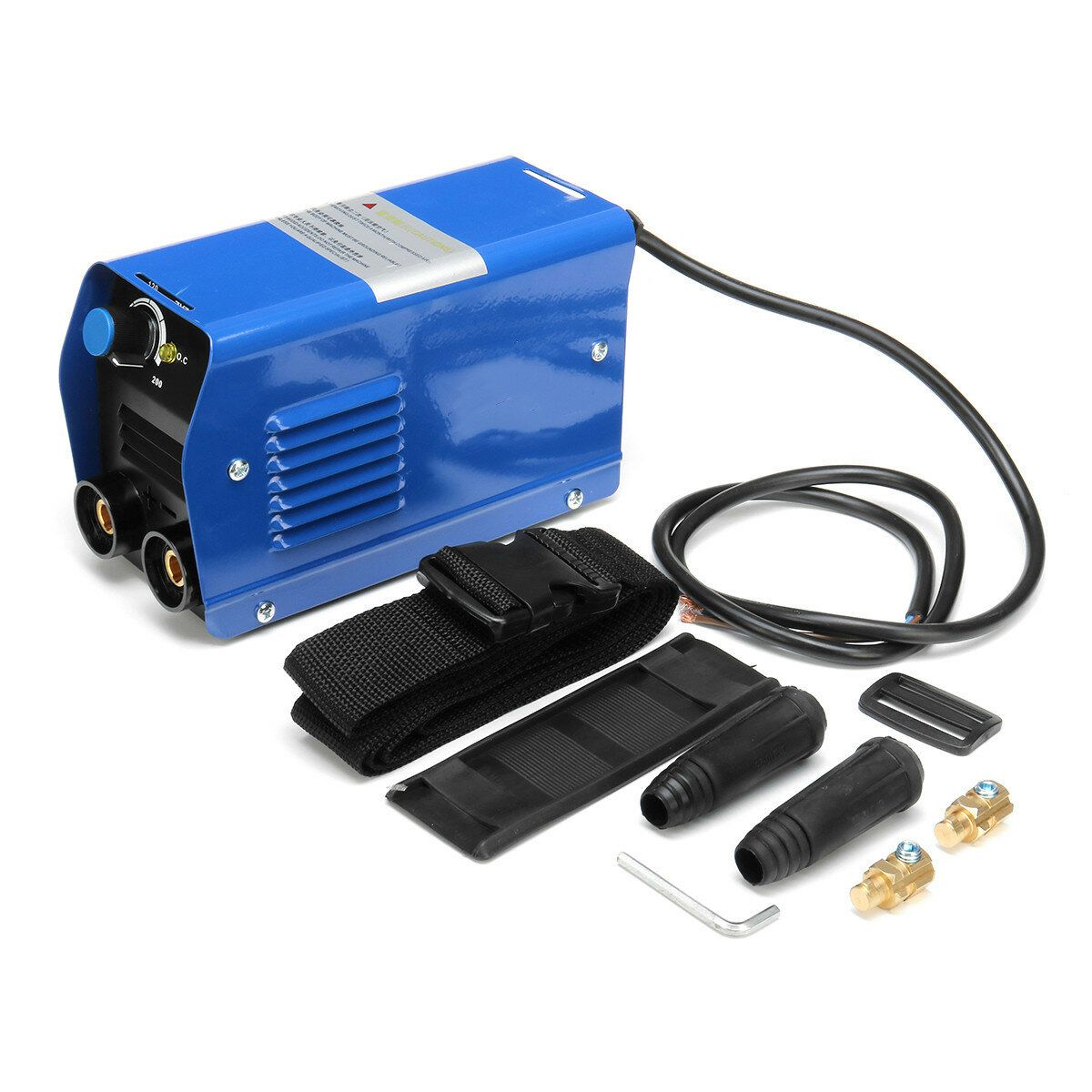 ZX7 200 220V 200A Portable Electric Welding Machine IGBT Inverter MMA W/ Insulated Electrode