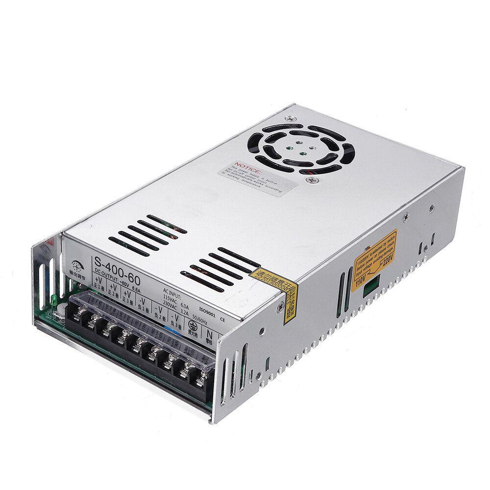 RD6006/RD6006 W LED Switching Power Supply S 400W 48V/DC12V/24V/36V/60V 8.3A 33.3A Support Monitoring Transformer Lighting