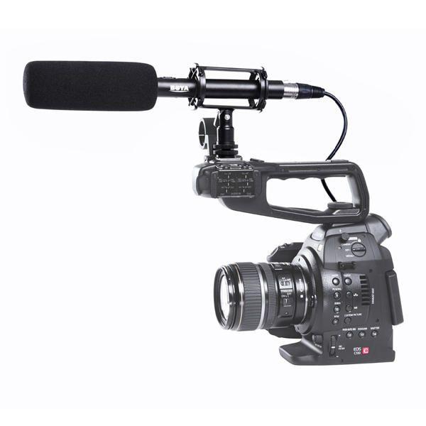 TJX US$69.74 BOYA BY-VM1000 Camera Mounted Stereo Condenser Shotgun Microphone For DSLR Camera Camcorder