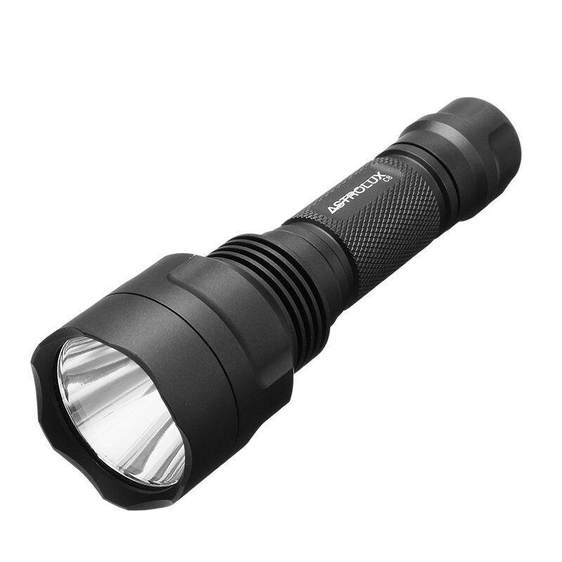 Astrolux C8 XP L HI 1300Lumens 7/4modes A6 Driver Tactical EDC LED Flashlight 18650