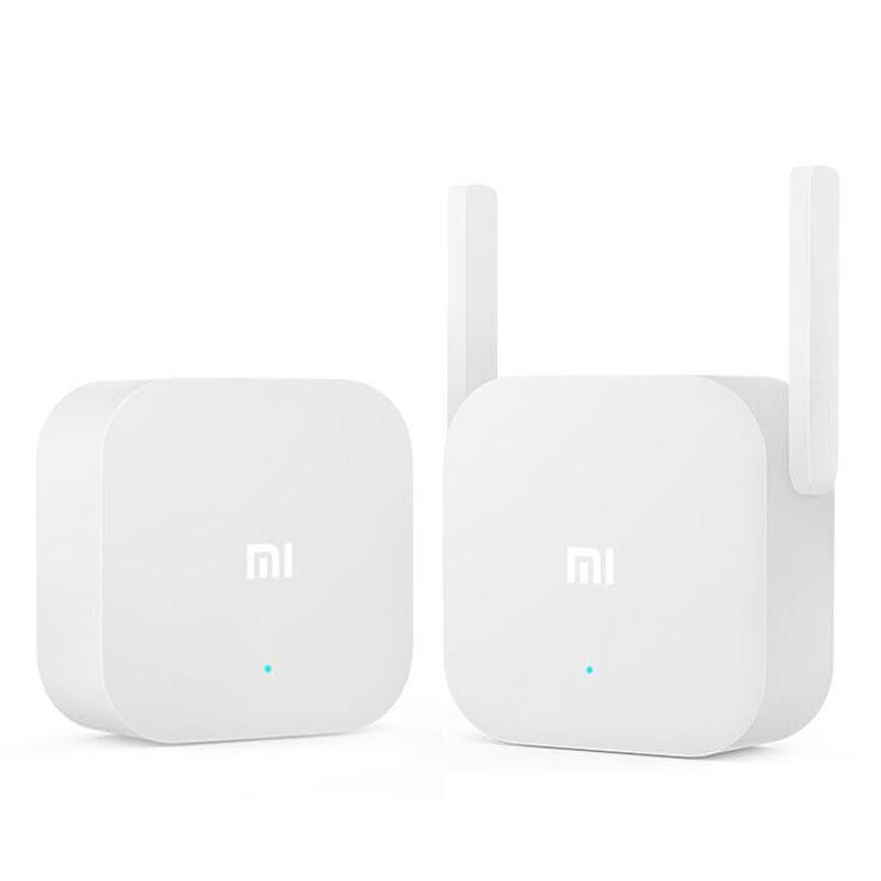 Original Xiaomi 2.4Ghz 300Mbps Dual Antenna Wireless PowerLine Ethernet Adapter Homeplug