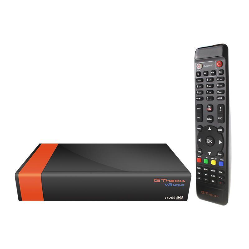 GTmedia V8 NOVA DVB S2 Satellite 1080P HD H.265 Built in WIFI TV Signal Receiver Support CCcam