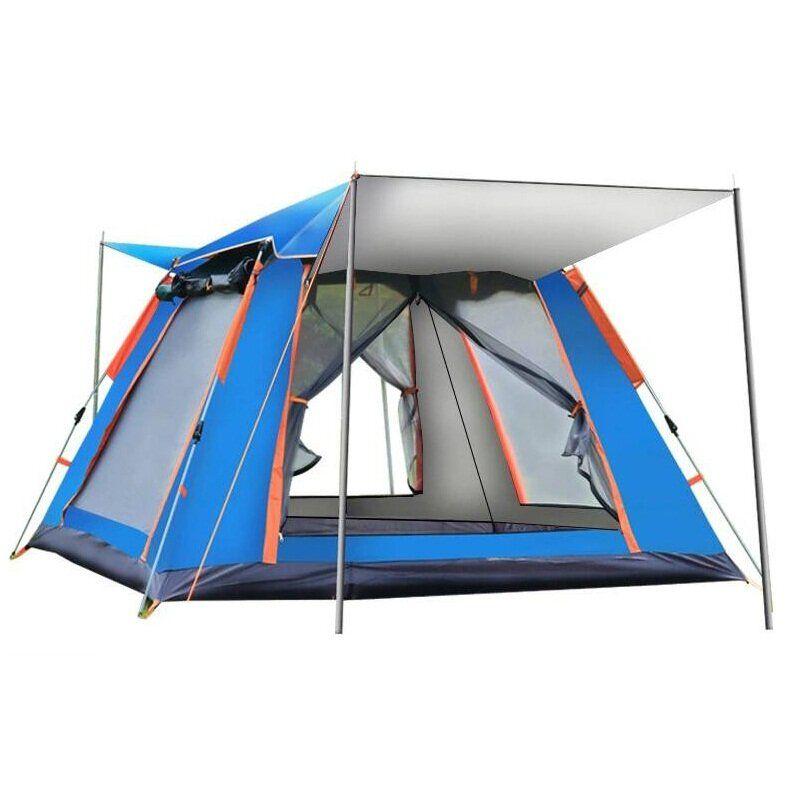 IPRee® 4 6 Person Tent Auto Setup Waterproof Windproof Ventilation Anti mosquito Camping Tent Carpa