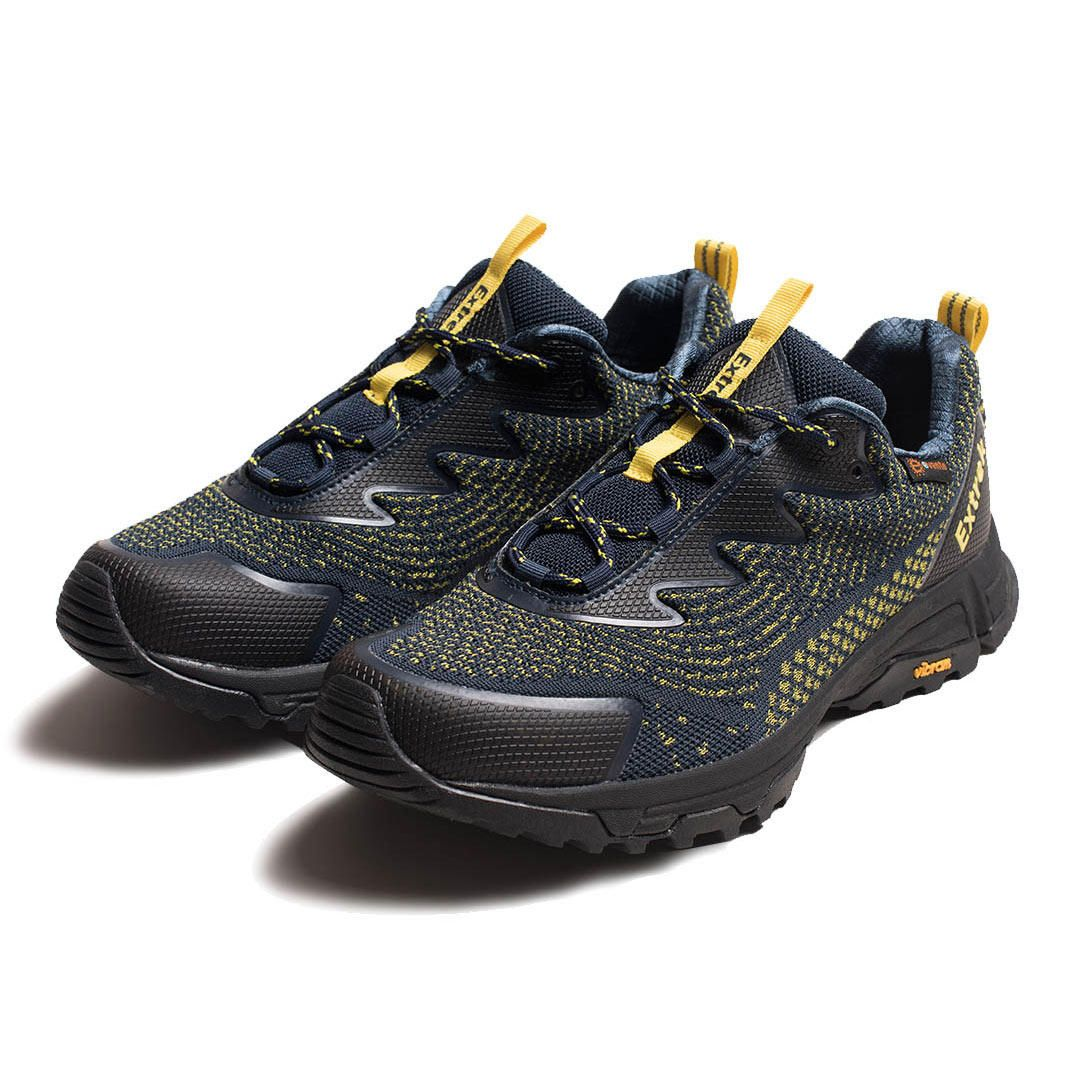 EXTREK Fly Knit Men Sneakers Waterproof Breathable Non slip Shock Absorption Hiking Shoes Ultralight Sport Running Shoes from xiaomi youpin