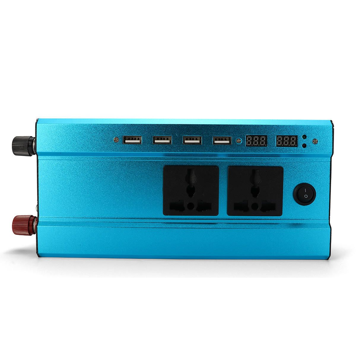 1000W/500W 4USB Interface Solar Power Inverter 12V/24V DC to 220V AC Converter Charger