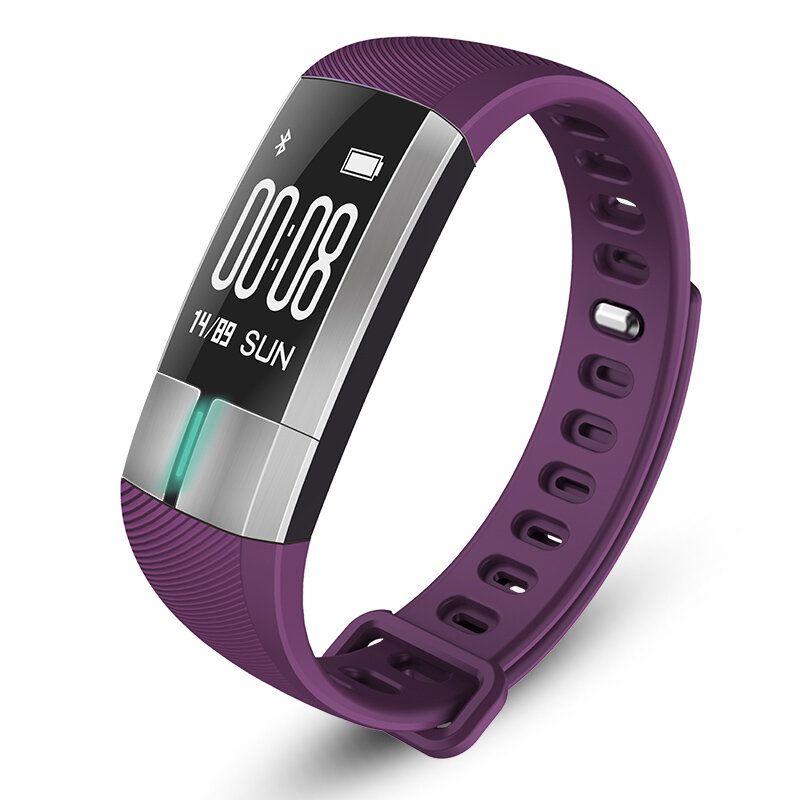 G20 OLED ECG+PPG Blood Pressure Health Monitor Smart Bracelet IP67 Waterproof