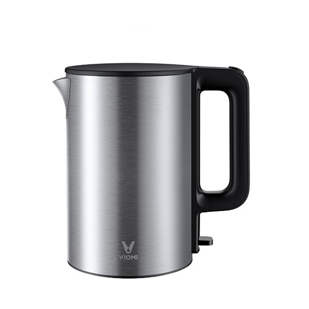 VIOMI YM K1506 1.5L 1800W Electric Kettle Thermostat Anti scalding Home 304 Stainless Steel Water Kettle From Xiaomi Youpin