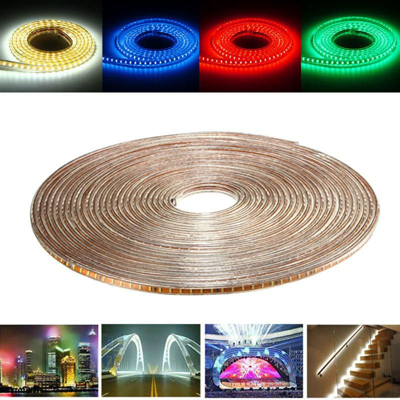 20M SMD3014 Waterproof LED Rope Lamp Party Home Christmas Indoor/Outdoor Strip Light 220V