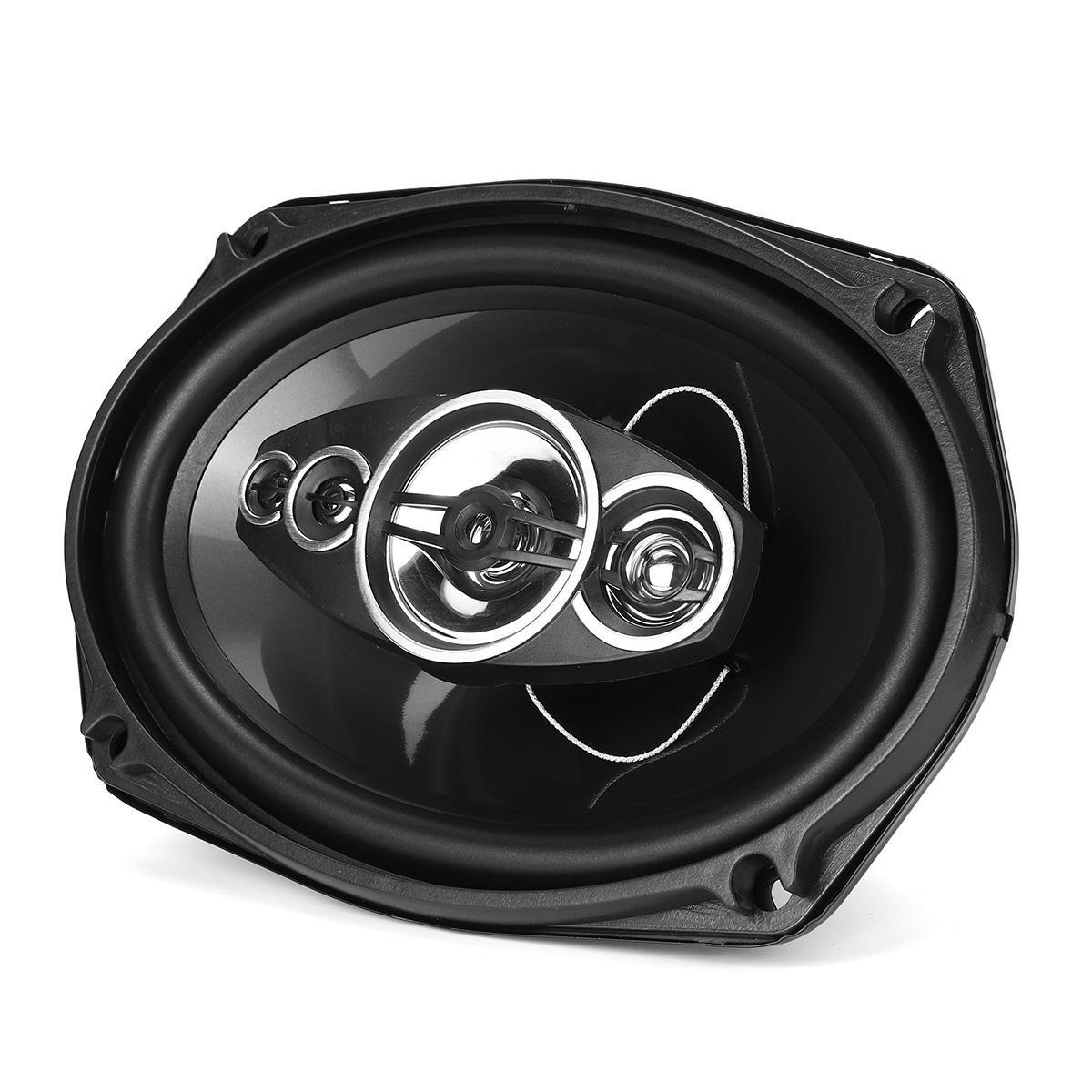 2Ps TS 6972 800W 6x9'' Car Dual Door Shelf Coaxial Audio Speaker 2 Way HiFi Speakers