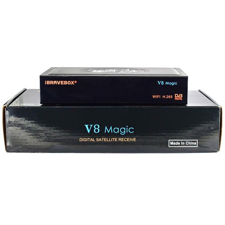 iBRAVEBOX V8 Magic DVB S/S2 WIFI H.265 TV Signal Satellite Receiver Support USB WIFI