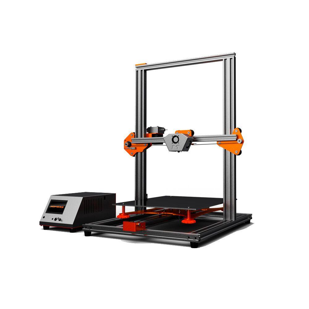 HOMERS/TEVO® Tornado DIY 3D Printer Kit 300*300*400mm Large Printing Size 1.75mm 0.4mm Nozzle Support Off line Print
