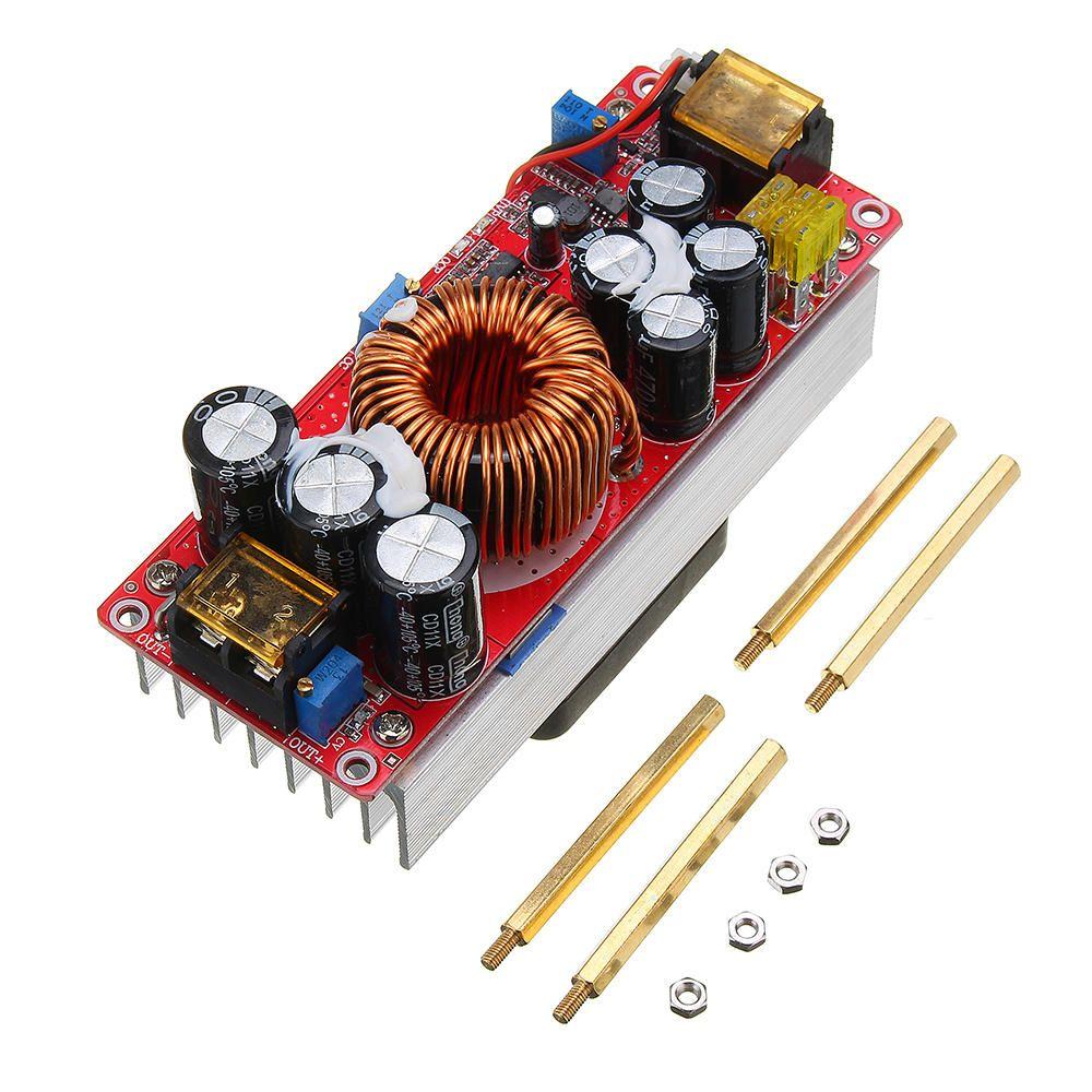 1500W 30A High Power DC DC Constant Voltage Constant Current Step up Power Module Boost Converter 12V 24V 48V To 48V 60V 72V