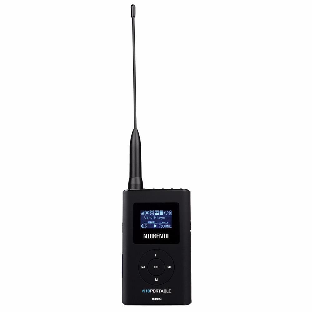 NIORFNIO T600M MP3 Broadcast Radio FM Transmitter