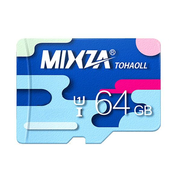 MIXZA Colorful Memory Card 64GB TF Card Class10 For Smartphone Camera MP3