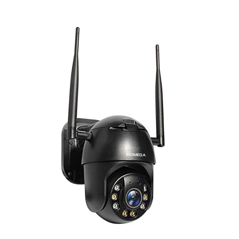 INQMEGA 4G Smart WIFI 1080P PTZ IP Camera 2MP IP66 Waterproof Full Color Night Vision Wireless GSM SIM Card Cloud Storage IP Camera EU Plug