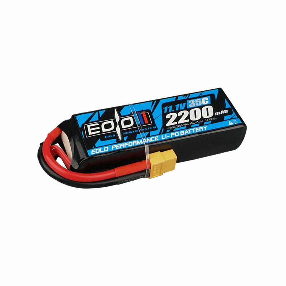 OMPHOBBY EOLO Series SH35C 2200mAh 3S 11.1V LiPo Battery With XT60 Connector For RC Airplane