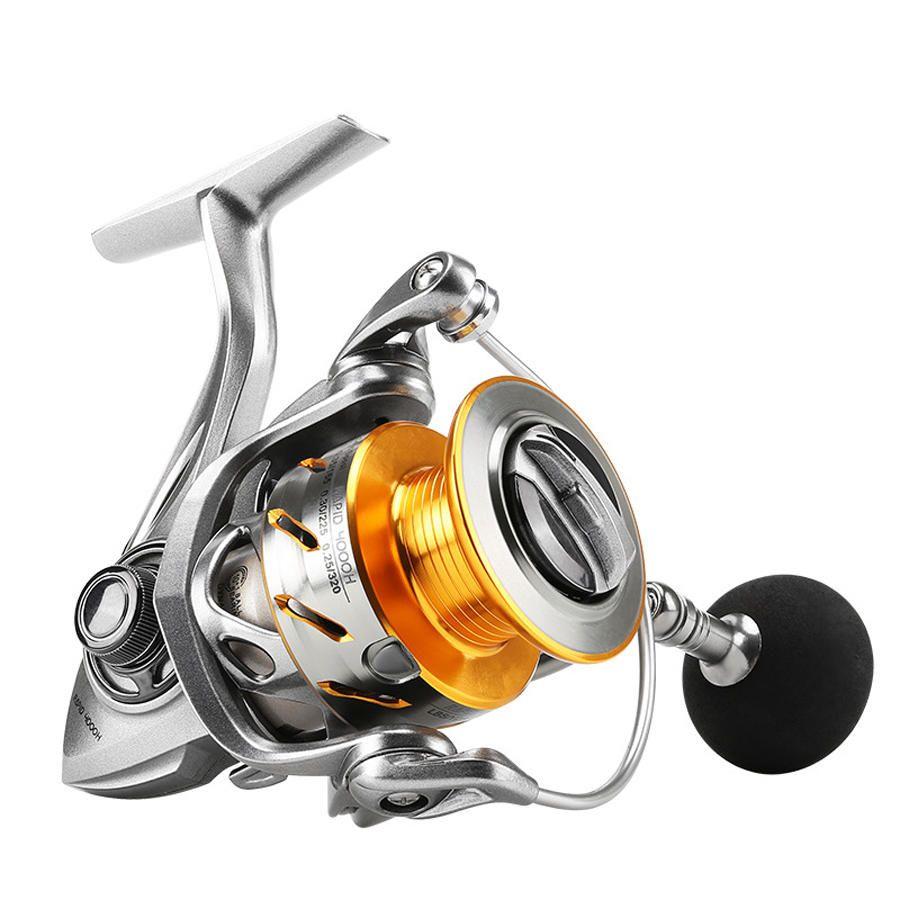 SeaKnight RAPID 2000 6000H Spinning Reels 6.2:1/4.7:1 10+1BB Anti Corrosion Fishing Wheel Saltwater Fishing Reel