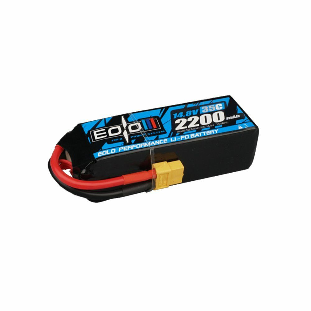 OMPHOBBY EOLO Series SH35C 2200mAh 4S 14.8V LiPo Battery With XT60 Connector For RC Airplane