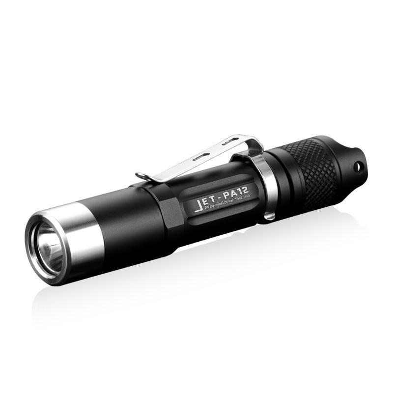 JETBEAM PA12 780LM Flashlight 4 Modes IPX8 LED Lamp Camping Hunting Work Lantern