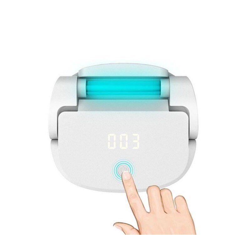 Multifunctional Sterilizer Ultraviolet Ozone UV Lamp Timing Sterilizer Household for Toilet Closet Shoe Cabinet Toy
