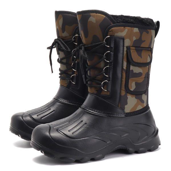 US Size 8 11 Men Waterproof Camo Hunting Boots