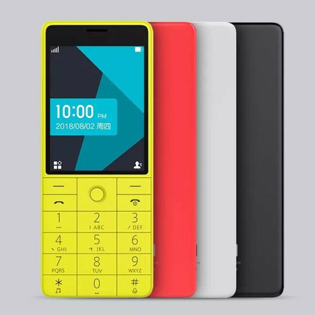 QIN 1S 4G Network Wifi 1480mAH BT 4.2 Voice Infrared Remote Control Dual SIM Card Feature Phone from Xiaomi youpin