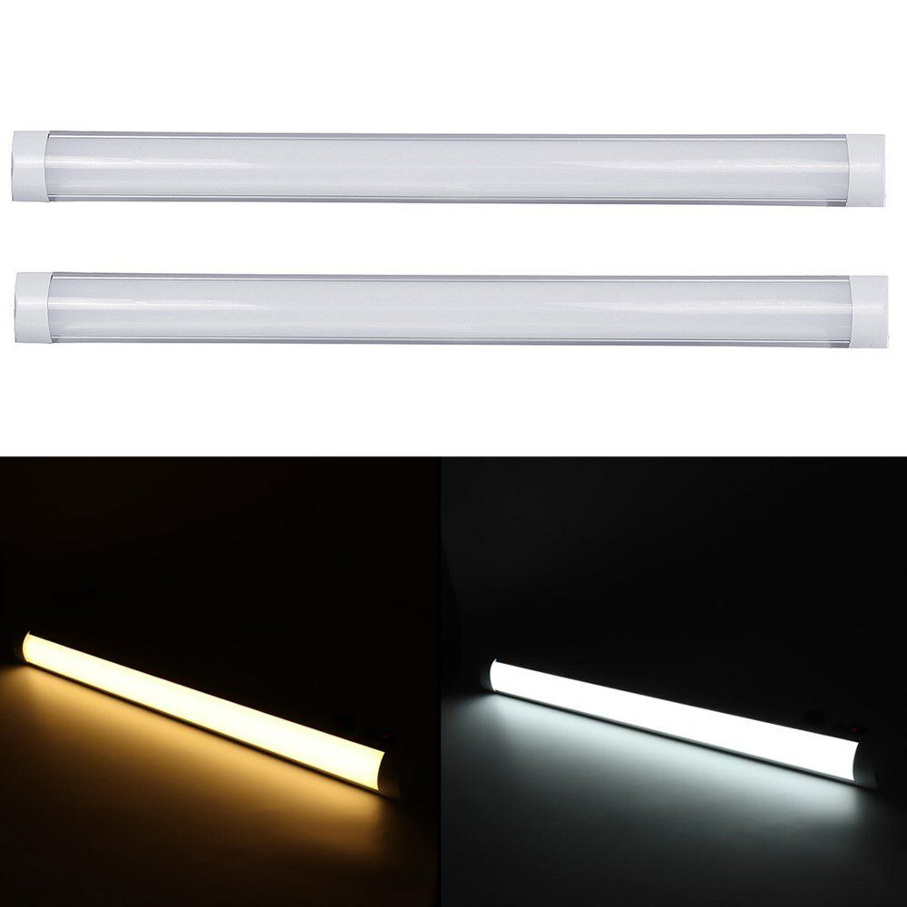 2PCS 90cm LED Tube Light T10 SMD2835 Surface Mount Integrated Purification Lamp for Indoor Use 85 265V