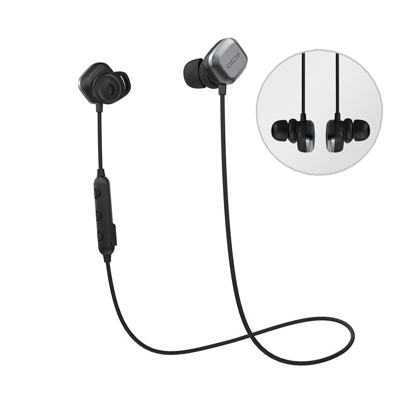 QCY M1 Pro HiFi Wireless bluetooth Earphone Magnet Adsorption IPX4 Waterproof Sports Headphone from xiaomi Eco System