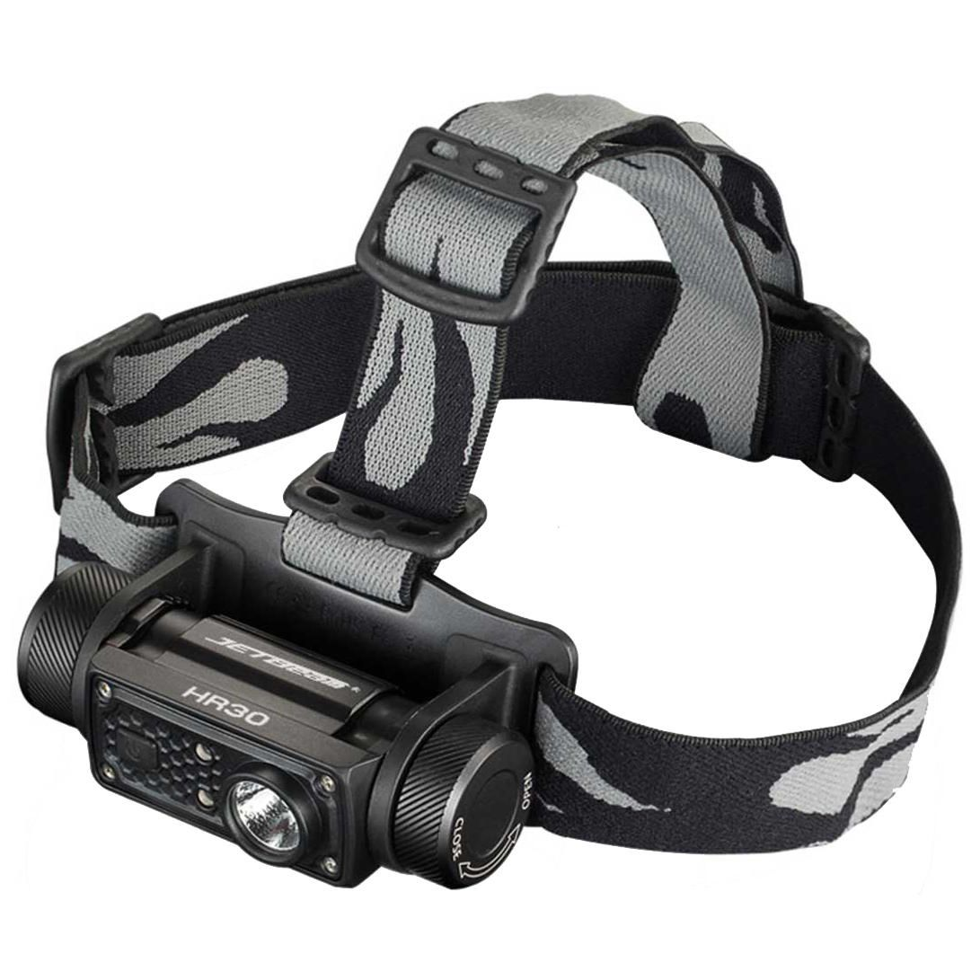 JETBeam HR30 950LM Headlamp SST40 N5 LED Flashlight with USB Cable by 1*18650 Battery