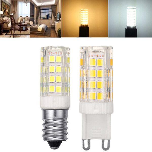 ARILUX® E14 G9 5W SMD2835 Pure White Warm White LED Corn Light Bulb No Flicker AC220V