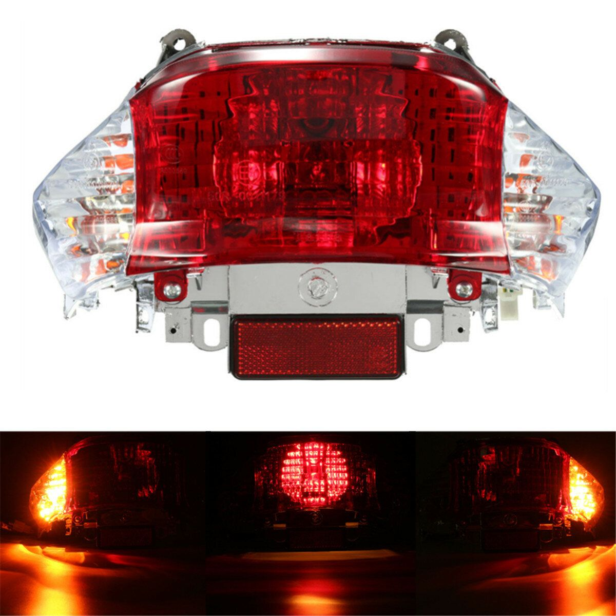 GY6 12V 50cc Scooter Tail Light Turn Signal Lamp Chinese Tao Tao