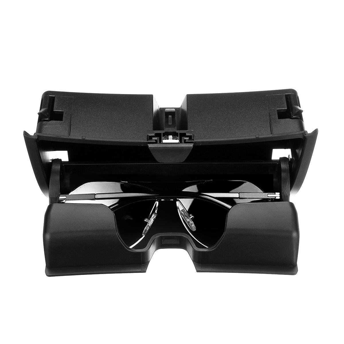Car Front Sun Glasses Case Box Organizer Holder Plastic Storage Box for BMW X5 X6 F15 F16 2014 2017
