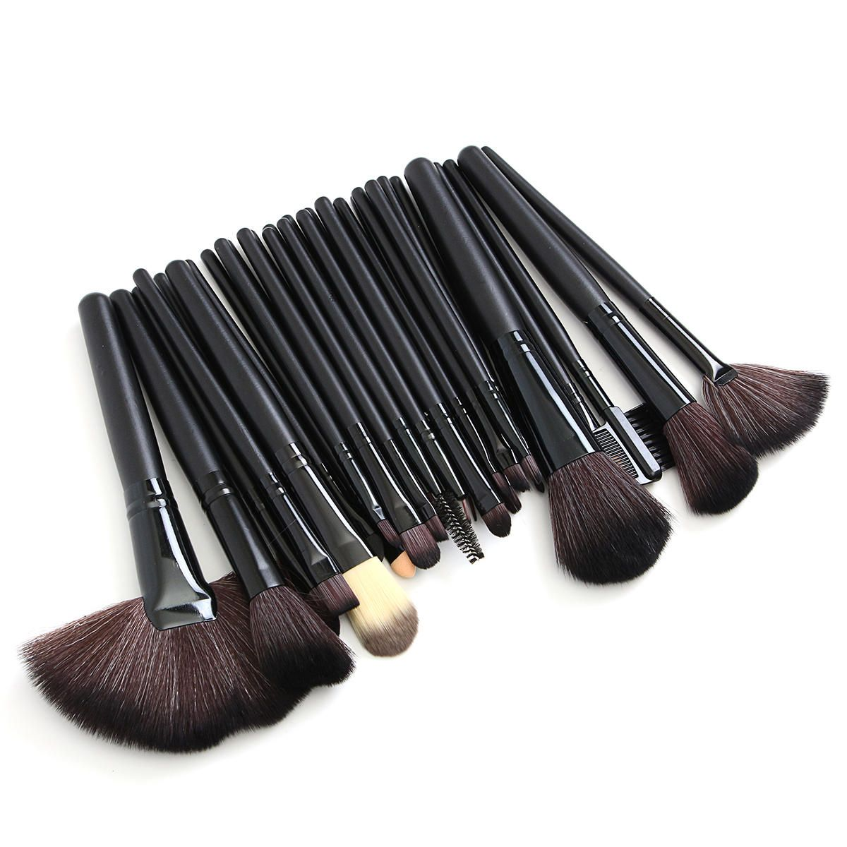 32pcs Pink Eyeshadow Eyebrow Blush Makeup Brushes Cosmetic Tools Set Soft