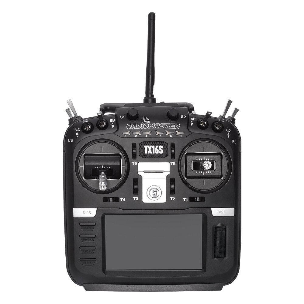RadioMaster TX16S Hall Sensor Gimbals 2.4G 16CH Multi protocol RF System OpenTX Mode2 Transmitter for RC Drone