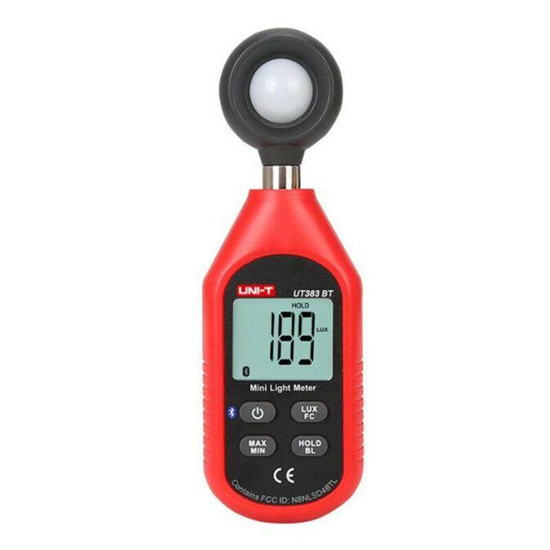 UNI T LCD Digital Lux Meter bluetooth Mini Light Meter Illuminance Luminometer Photometer Tester