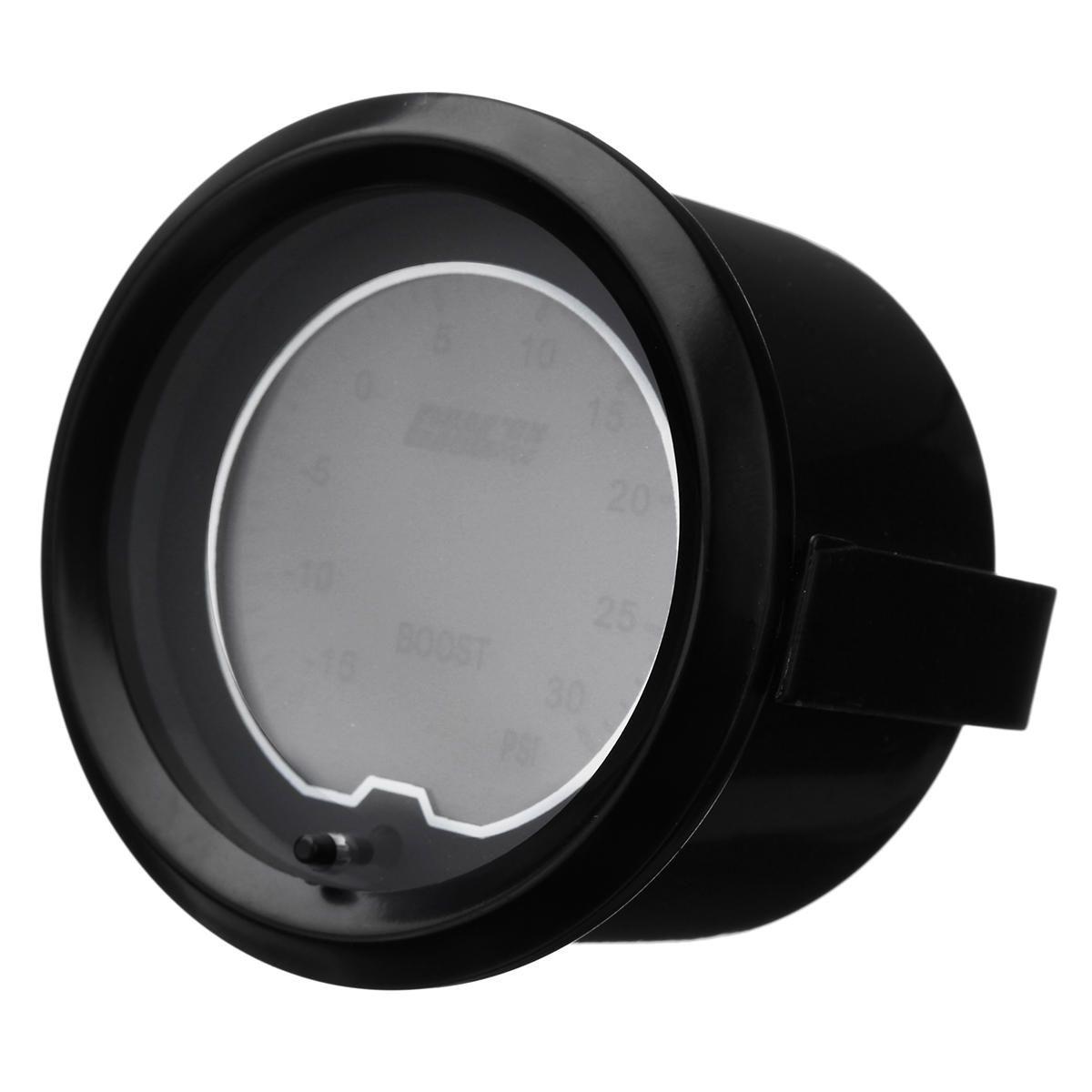 QDQ US$26.31 Universal 2 Inch 52mm PSI Turbo Boost Gauge Digital LED Light Display Car Meter
