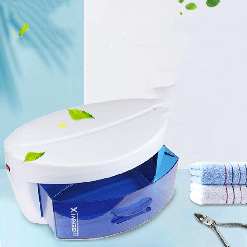 UV Sterilizer UV Ozone Tool Disinfection Cabinet UV Disinfection Beauty Salon Manicure Tool Disinfection EU Plug