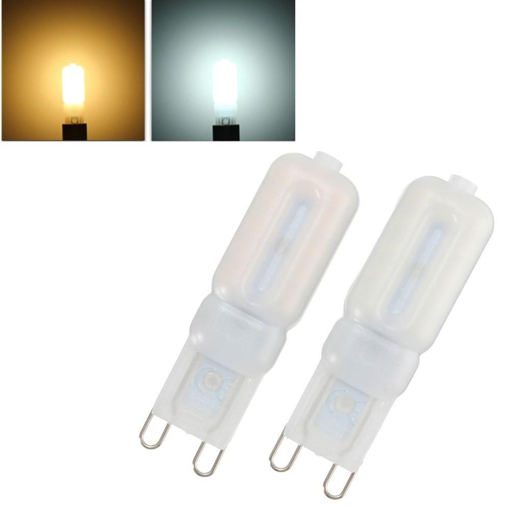 G9 5W 22 SMD 2835 LED Pure White Warm White 440Lm Light Lamp Bulb AC220V