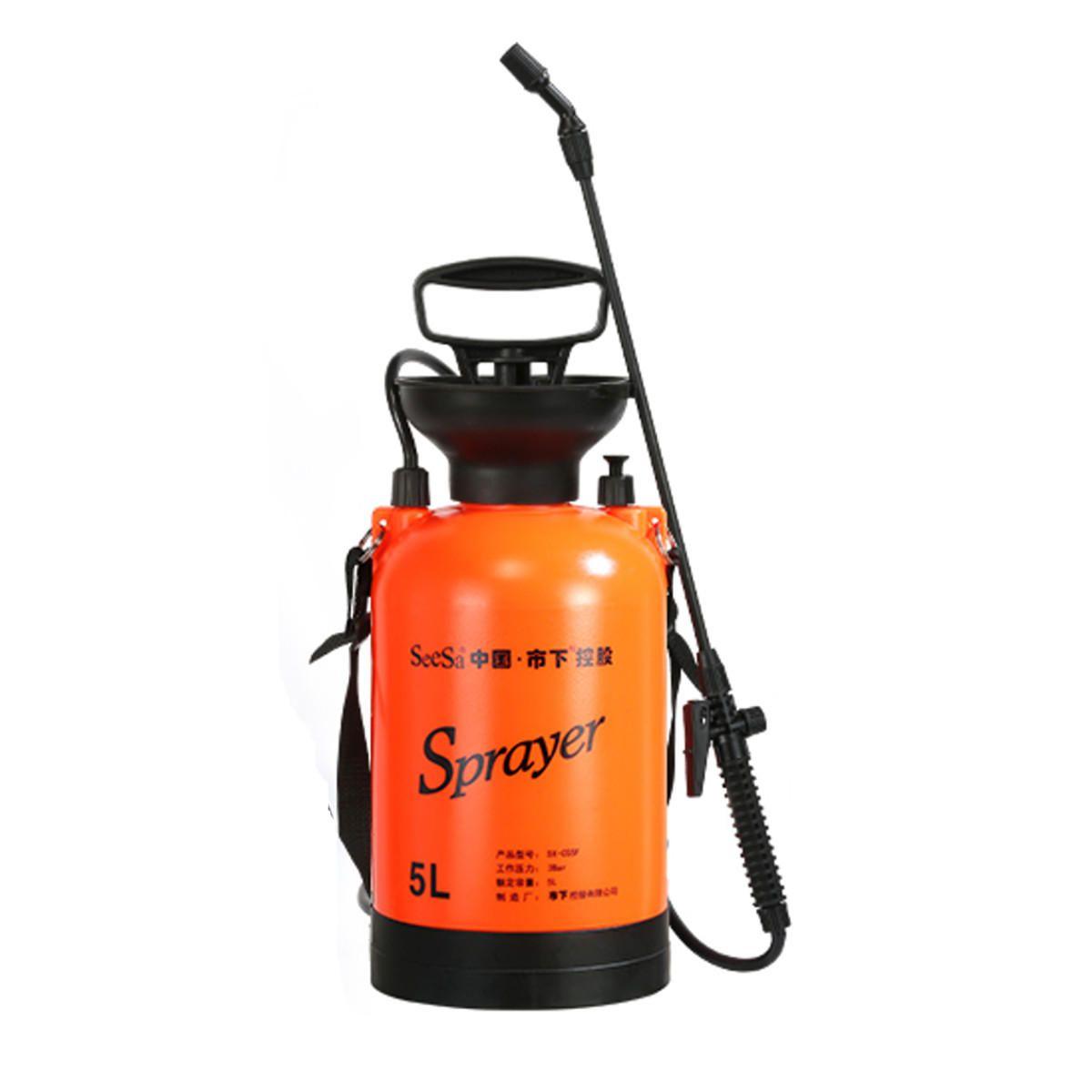 3L/5L Disinfectant Sprayer Hand Pressure Pump Watering Sprayer Garden Irrigation Chemical Bottle