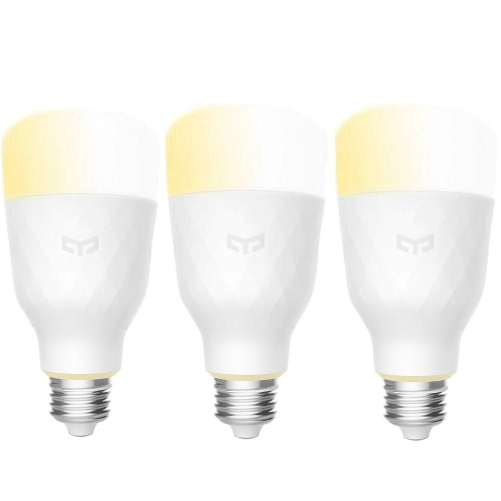 3PCS Yeelight YLDP05YL E27 10W Warm White to Daywhite WiFi Smart LED Bulb AC100 240V(Xiaomi Ecosystem Product)