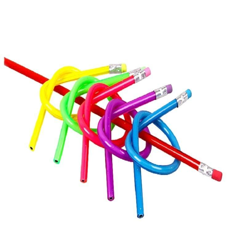 1 Piece Soft Pencil Students Learning Drawing Children Pencil Bending Office Supplies