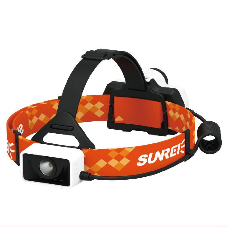 SUNREI Youpal 550LM Stepless Dimming Battery Indicator IPX6 Waterproof Bike Headlamp 18650 Battery USB Rechargeable