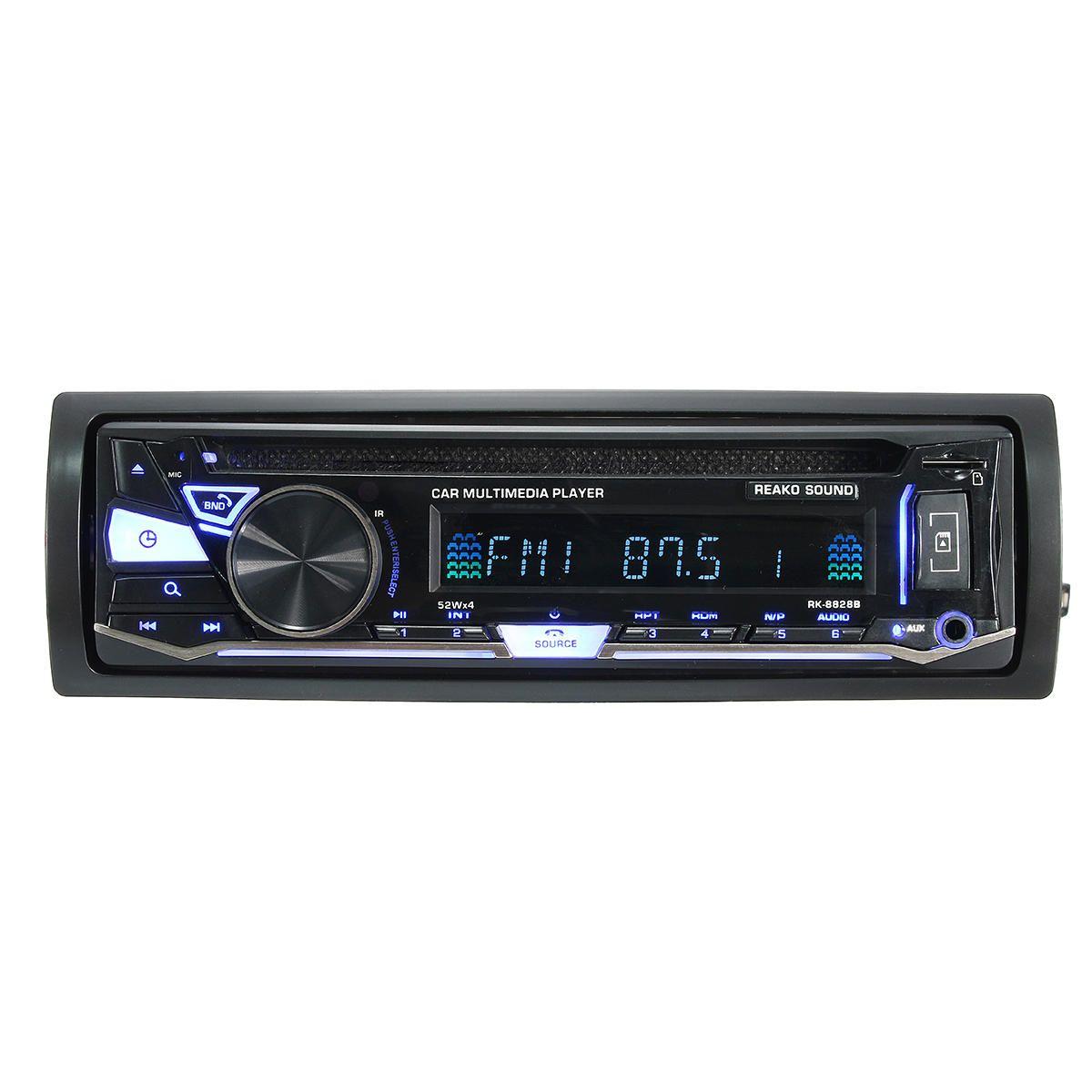 bluetooth Car Multimedia DVD Player with BT & DISC & FM/AM Radio & RDS Receiver